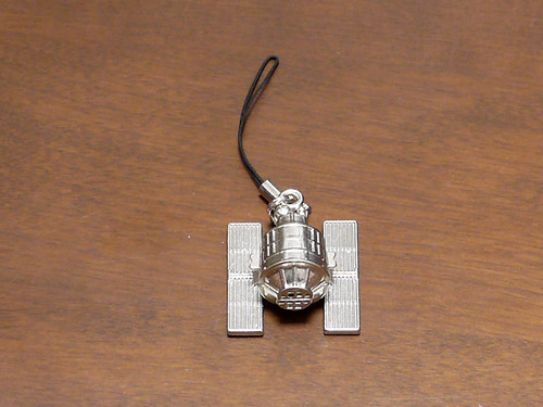 STEINS;GATE 比翼恋理のだーりん(初回限定版) 特典の人工衛星ストラップ