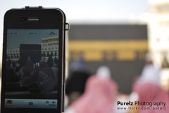Holy Kaaba in iPhone's eyes ♥ (*Purelz) Tags: eyes holy kaaba مكة المكرمة المسجد الكعبه الحرام iphones بعيون المشرفه الايفون