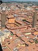 Aerial View of Bologna from the Medieval Towers
