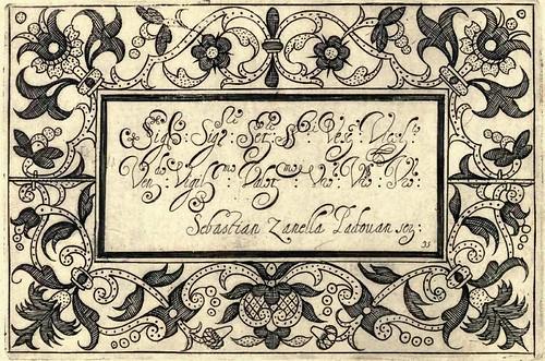 Bertozzi + Zanilla 1604 Lace Typography l