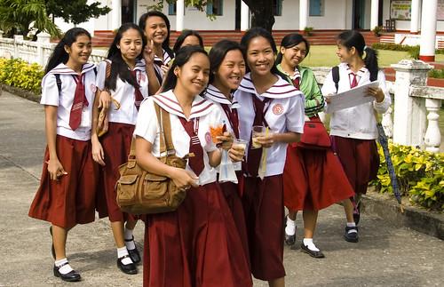 girl Philippine school