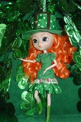Saint Patricks's Day 025 (raining rita) Tags: green doll handmade clothes pullip shamrocks staintpatricksday