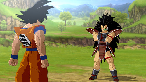 Dragon Ball Z Burst Limit Goku y Bardock
