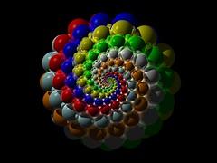 Doyle Spiral + Inversion + Riemann Sphere (fdecomite) Tags: spiral math doyle riemann