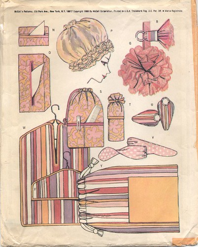 Vintage Accessories Pattern, 1966