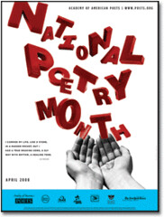 National Poetry Month 2008