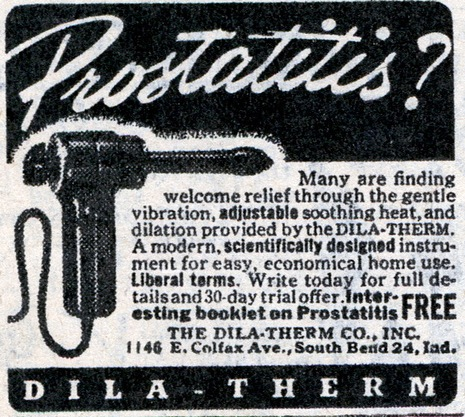 prostatitis dila therm
