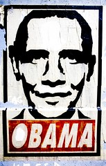 Obama (Thomas Hawk) Tags: sanfrancisco california usa sign graffiti unitedstates fav50 10 unitedstatesofamerica politics fav20 eddie fav30 obama barakobama fav10 fav25 fav40 superfave eddiecolla