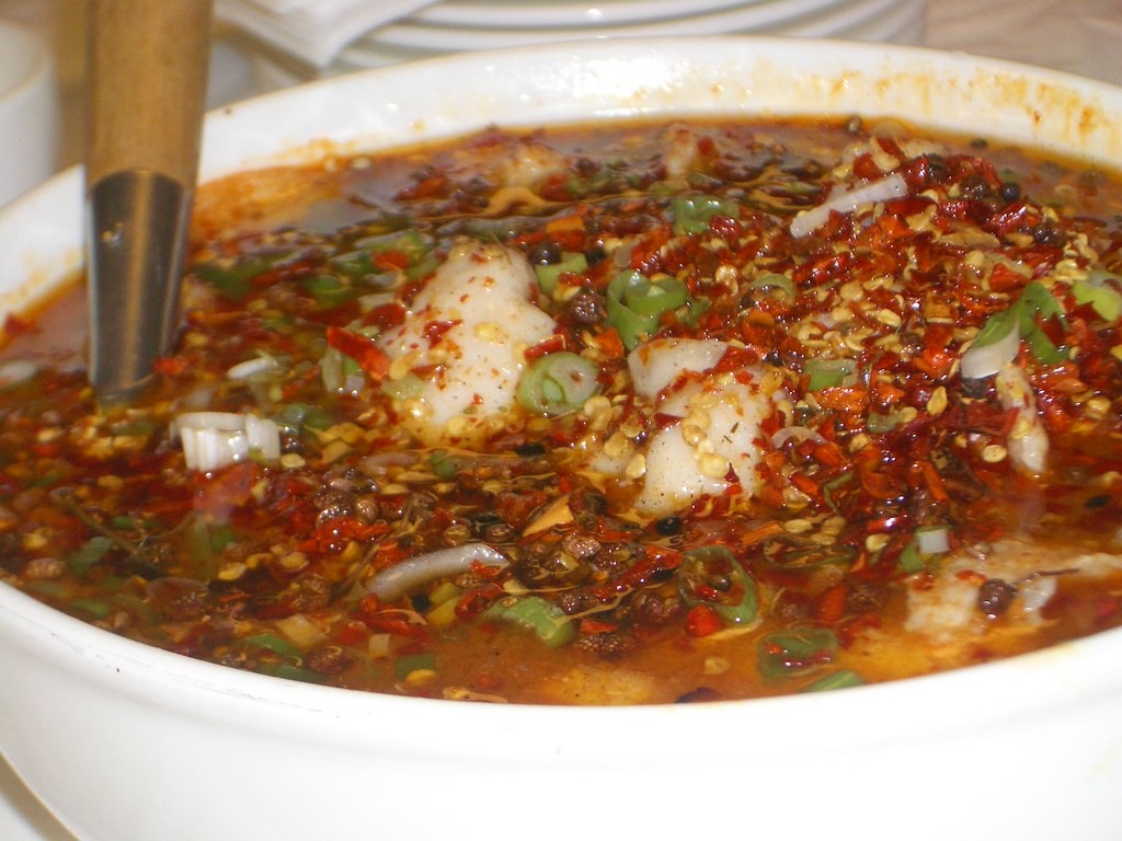 Xiang Boiled Fish with Chili