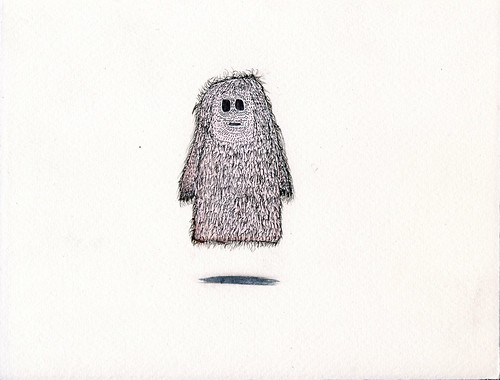 hairy ghost