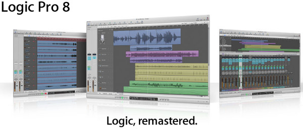 Apple - Logic Studio - Logic Pro 8 - New in Logic Pro 8