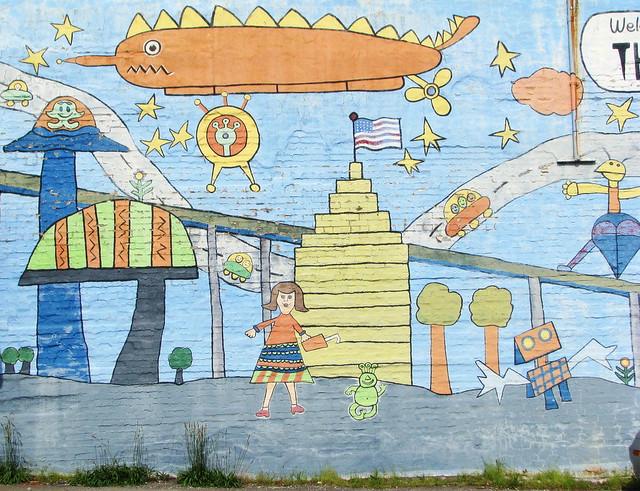 Vivid imagination Mural