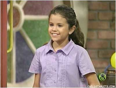 selena gomez little