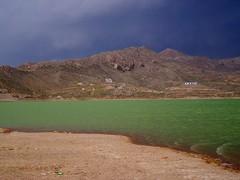 Hanna Lake, Quetta, Pakistan - April 2008 (SaffyH) Tags: pakistan mountains hanna darkclouds upland quetta balochistan urak hannalake lakesinpakistan urakvalley hannajheel lakesinbalochistan waterbodiesinbalochistan daysoutinbalochistan daytripsnearquetta stormyweatherinpakistan