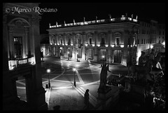 Campidoglio - City Hall (Roma) (marco/restano) Tags: new italian generation fotografi flickrchallengegroup percorsiurbaniof fotografinewitaliangeneration