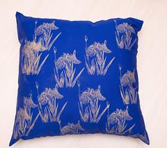 ris japonesas com fundo azul (luisa furman) Tags: design pillow cushion almofada