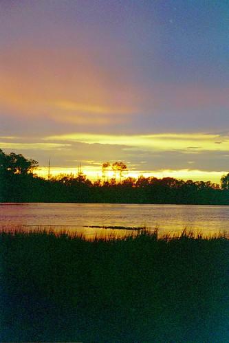 kiawah river dusk