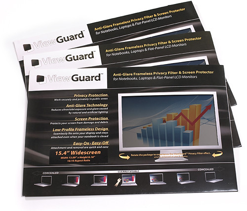 Retail Packaging - ViewGuard Anti-Glare Framless Privacy Filters