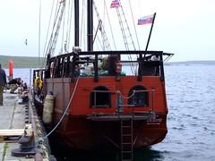 Victoria (nz_willowherb) Tags: see scotland pier boat flickr tour vessel visit victoria bratislava shetland to go baltisound visitshetland seeshetland goptoshetland