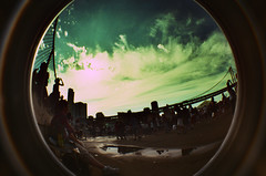 Cloverfield Sky again. (ThePirata) Tags: lomo tour warped fisheye pennywise 08 reelbigfish crossprosses asilaydying angelsandairwaves