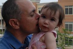 Grandpa Tony and Lil Ellie (UrbanDorothy) Tags: baby elise daughter grandfather tony ellie granddad familyphotos oneyearold tbt elisecolette