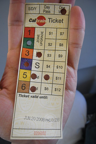 CalTrain Ticket (by Phanix)