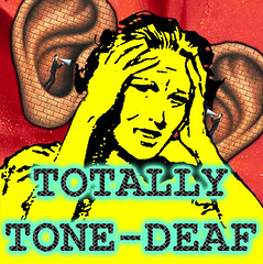Totally Tone Deaf (craigless64) Tags: life music art collage digital photoshop creativity design artist song unique album irony craig hop tune morrison quip cmor