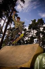 Masa blunt to bs tail (Pekka Korhonen) Tags: skateboarding blunt bstail
