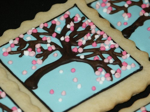 Cherry Blossom Cookie