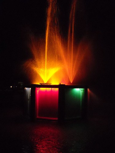 Night Fountain 12