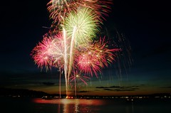 Fireworks over Long Lake from... by Adam Franco, on Flickr