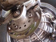 rear disc (mark & anne's photos) Tags: vespa rally scooter lambretta scooters custom scooterrally bretta ronniebiggs