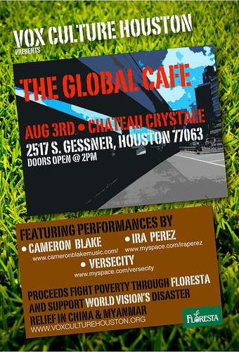 Global Cafe Flyer