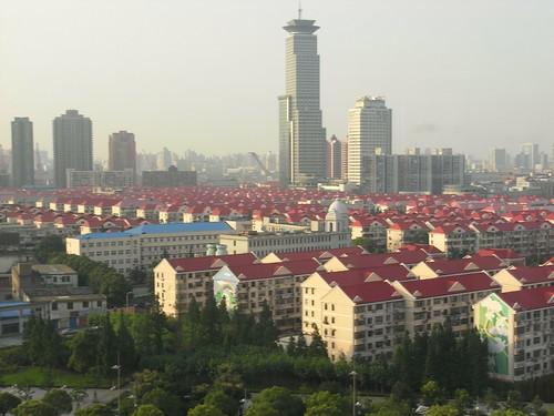 ホテルから見た集合住宅