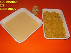 Fritos de arroz-ingrs.