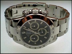 Rolex Daytona Cosmograph 116520 (char1iej) Tags: black nikon watches watch ss timepiece wristwatch oyster chronometer rolex chronograph calibre zenith chrono horology privatecollection e5700 4030 2000views oysterperpetual ebauche rolexwatch rolexdaytona chronographe tachymetre horologie 116520 superlativechronometer charliej daytonacosmograph zenithmovement subdials daytonachronograph caliber4030 rarerolex