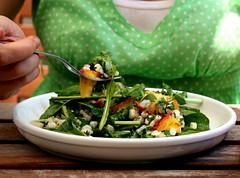 Savory Peach Salad
