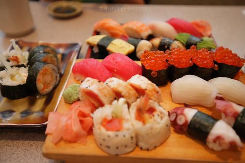 Birthday 2008 Sushi