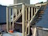 Roof terrace doorway