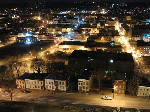 Troy, NY at night (again)