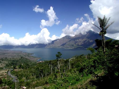 Volcanoes Bali Batur Volcano And Lake in Bali