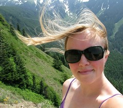 mountain breezes (carolyn_in_oregon) Tags: mountain me oregon hiking mthood mthoodnationalforest timberlinetrail baldmountaintrail