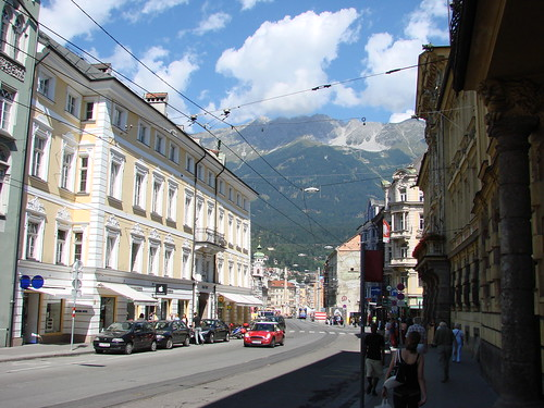 Vieille ville de Innsbruck