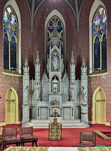 Visitation-Saint Ann Shrine, in Saint Louis, Missouri, USA - sanctuary