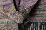 Handspun and Handwoven Merino and Alpaca Scarf (EasterBunz)-4 day auction