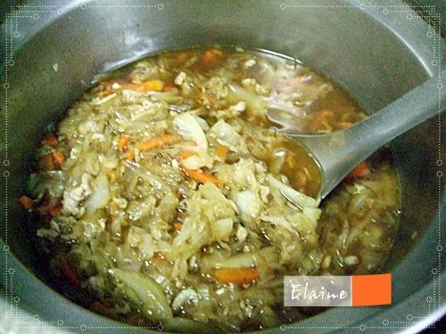 電鍋炒米粉