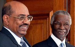 President Omar Hassan al-Bashir of Sudan along with former head-of-state Thabo Mbeki of the Republic of South Africa. Both nations have sought an independent foreign policy towards Africa and the rest of the world. by Pan-African News Wire File Photos