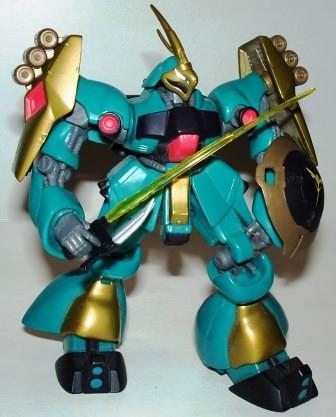 Gundam MSN Jagd Doga Green Gold a by you.