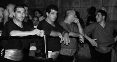 Festino: o issaaa (Michelangelo Macaluso) Tags: street portrait people michelangelo palermo 2008 ritratto reportage rosalia venditore ambulante pitchman macaluso 384festinodisantarosalia