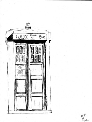 Free Coloring Pages Of Doctor Who Tardis Tardis Coloring Page